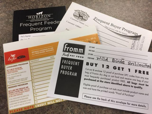 frequent shopper card